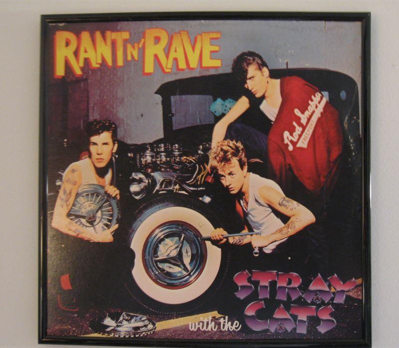 1983 Stray Cats Rant-n-Rave original LP at vinyl record memories.