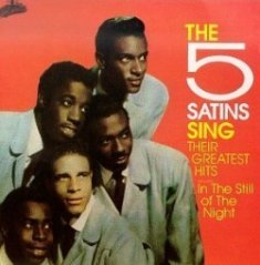 Go to Five Satins page | Listen to original 45rpm record.