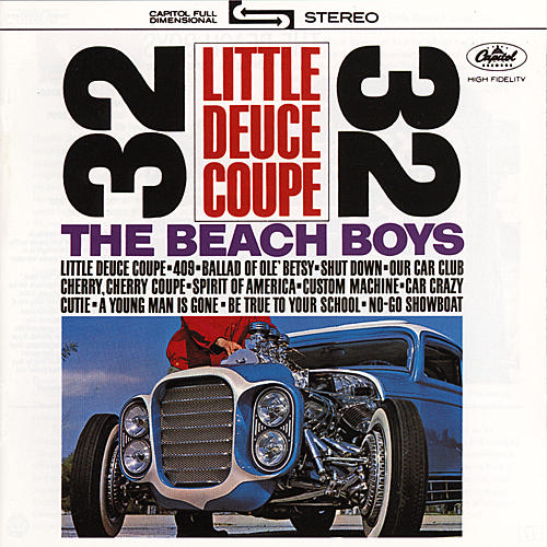 An original Little Deuce Coupe album at vinyl record memories.