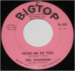 Del Shannon was the first to cover a Beatles song. Read the story at vinyl record memories.