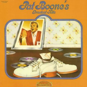 White suede shoes made famous by Pat Boone before anybody knew what they were.
