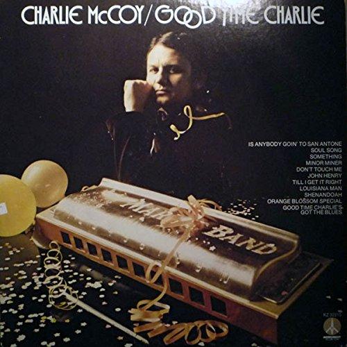Charlie McCoy plays harmonica on the Orange Blossom Special.