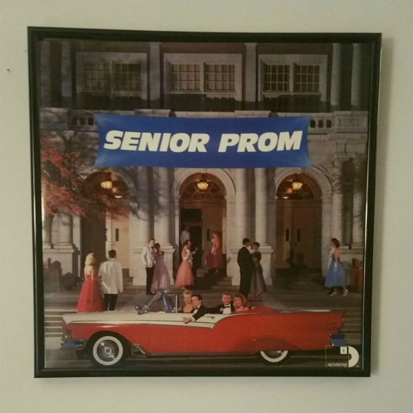 Click to Expand - Senior Prom album cover art from 1987 at vinyl record memories.