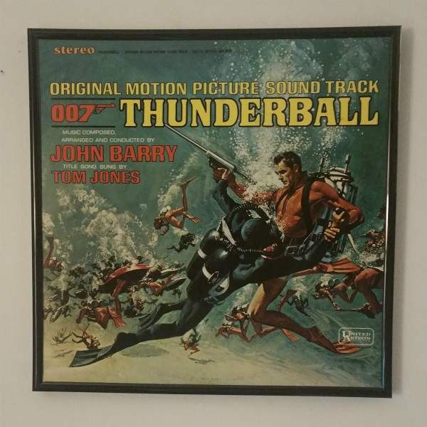 Click to expand - Thunderball album cover art from 1965 at vinyl record memories