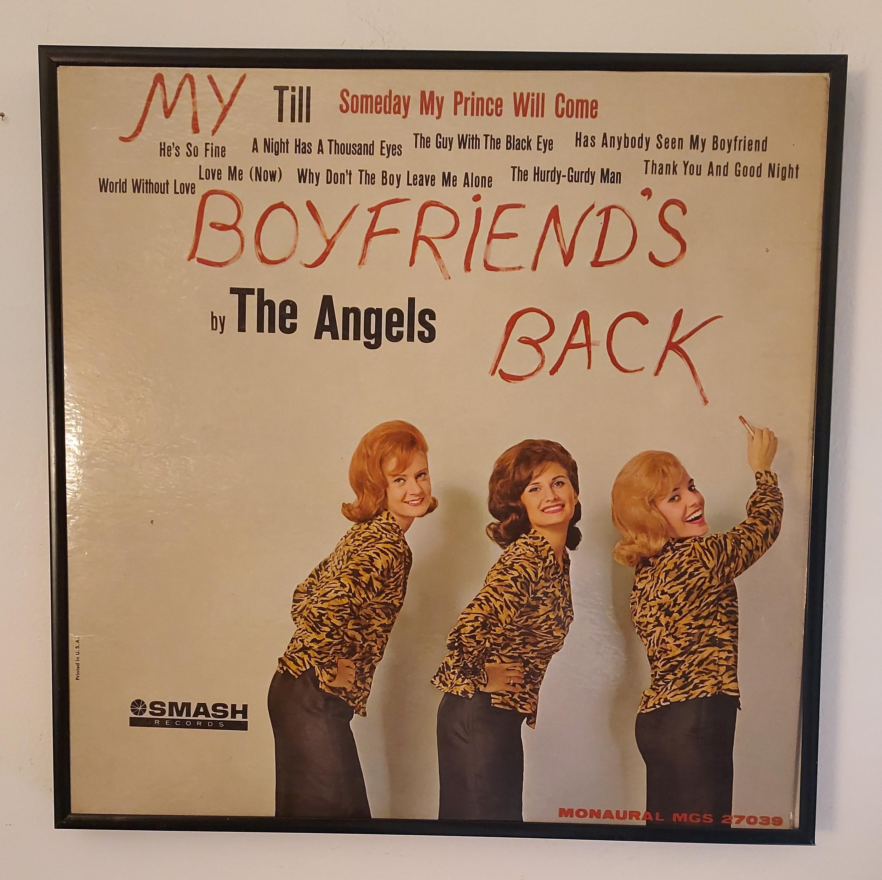 My Boyfriend's Back vinyl LP at vinyl record memories.