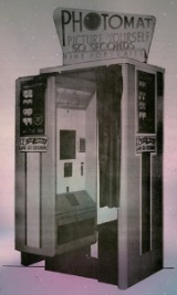 Original 25 cent photo booth crica 1952.