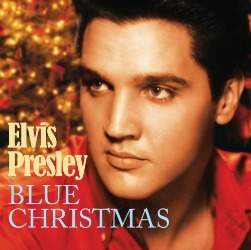 Elvis and Martina McBride sing Blue Christmas at All About Vinyl Records.