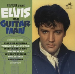 Elvis sings Guitar Man at All About Vinyl Records.com