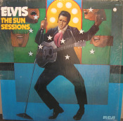 Elvis Sun Sessions album from the Elvis Presley Story at All About Vinyl Records