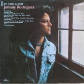 Johnny Rodriguez vinyl album titled (My Third Album)