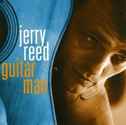 Elvis insisted Jerry Reed play guitar when he recorded Guitar man in 1967.