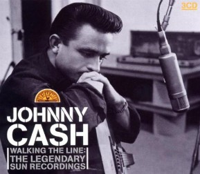 Johnny Cash early Sun Recordings. Read the story at vinyl record memories.