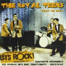 The Royal Teens in the movie Let's Rock!
