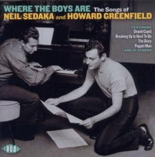 One of the best song-writing teams in the history of rock-n-roll, Neil Sedaka and Howard Greenfield.