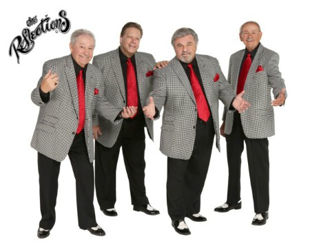 The Reflections, from left to right, Joey, Spider, Tony, and Gary.