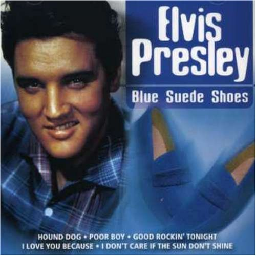 Elvis Presley cover of Carl Perkins Rockabilly standard, Blue Suede Shoes.