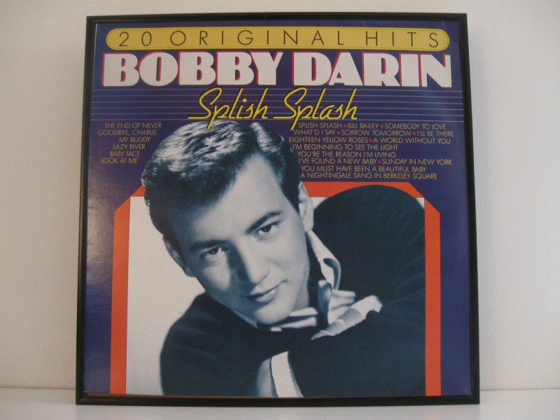 This rare Bobby Darin album was released in Germany around 1969.