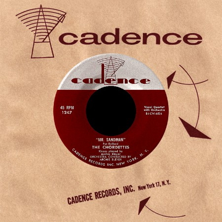 The Chordettes Lollipop Amp Mr Sandman Vinyl Record