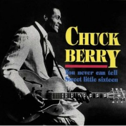Listen to Chuck Berry singing the popular song - You Never Can Tell along with a great movie clip.
