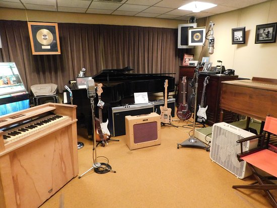 Norman Petty Studio, Clovis, New Mexico where Buddy Holly and many other artists recorded music history.