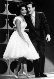 Connie Francis and Bobby Darin in late fifties.