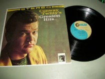 Original Conway Twitty Greatest Hits album at vinyl record memories.