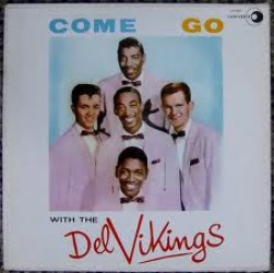 The original Del-Vikings at All About Vinyl Records.