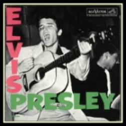 Elvis' first vinyl album