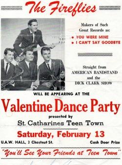 Fireflies Dance Party crica 1960