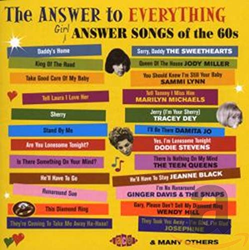 Answer songs of the 60s at vinyl record memories.