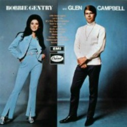 Dreamy duet with Bobbie Gentry and Glen Campbell. Listen to this vinyl record memories classic cover.