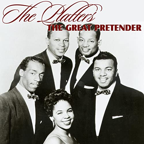 The Platters first No. 1 hit song, The Great Pretender from 1955.
