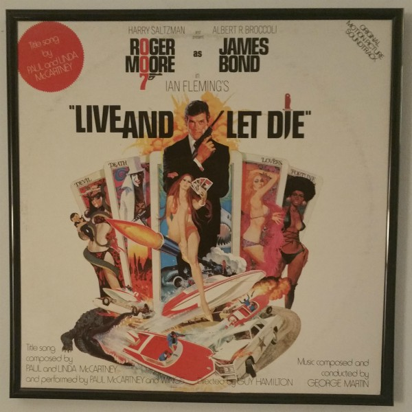 Click to expand - Live and Let Die album cover art from 1973 at vinyl record memories.