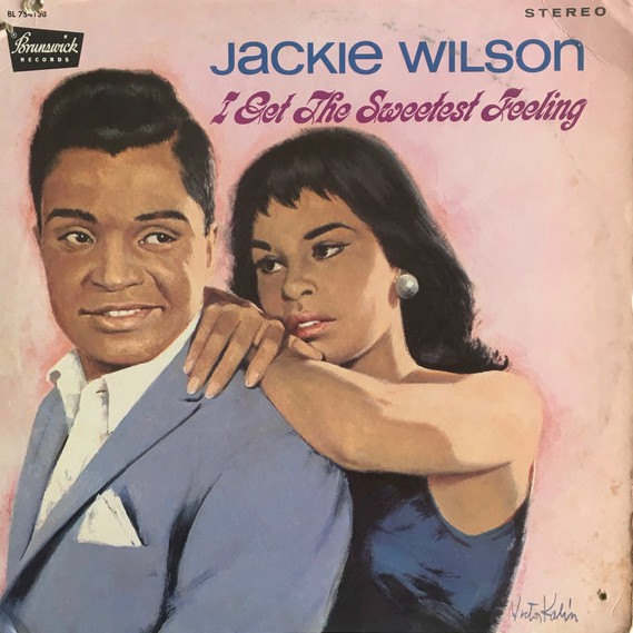 Final Curtain - No more lonely teardrops - The Jackie Wilson Story at vinyl record memories.com
