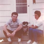 Me and my cool Mom around 1959.