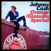 Johnny Cash original 1965 Orange Blossom Special album.