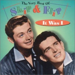 Skip and Flip 45rpm record It Was I from 1959.