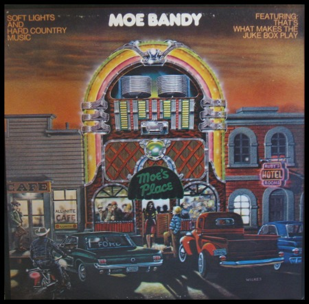 Moe Bandy Album Cover Art of the Month!