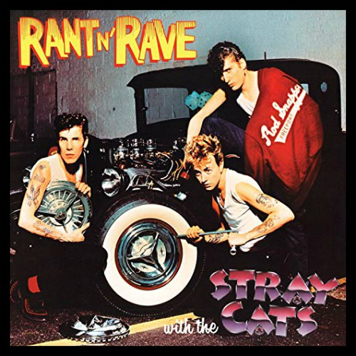 Cruise on over to the February Newsletter and check out the Framed Album Cover Art of The Month - The Stray Cats, Rant-N-Rave.