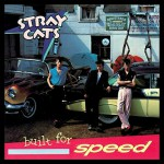 The Stray Cats Built For Speed January Framed Album Cover Art.