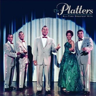 The Platters shown here were responsible for all those memorable hit recordings.