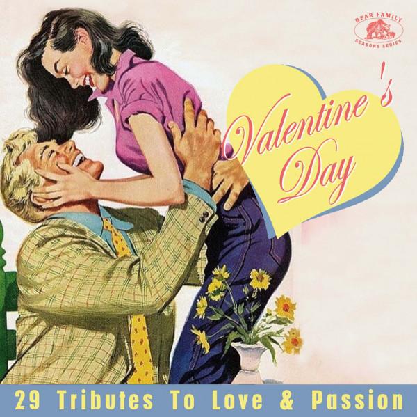 Valentine's Day love songs at Vinyl Record Memories.com