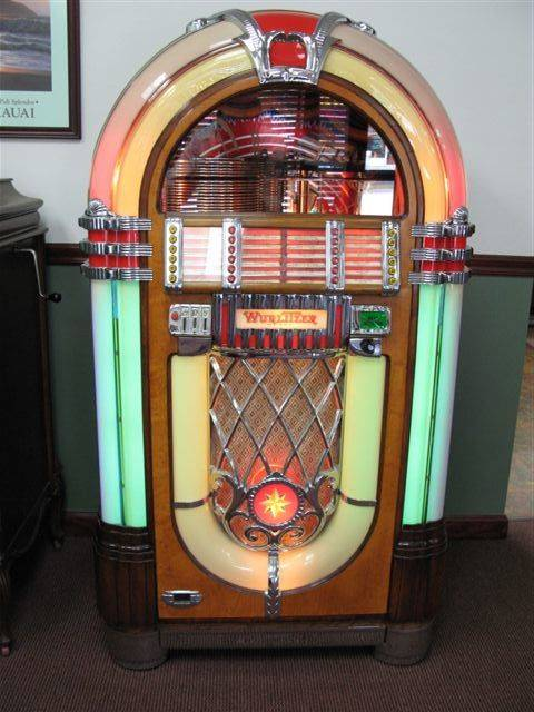 Wurlitzer 1015 was produced in 1946 and 1947.