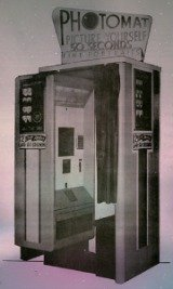 Remember those 25 cent photo booths that seemed to be in every roller rink across the country.