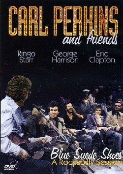 Ringo Starr plays Rockabilly with his friend Carl Perkins.