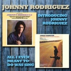 Johnny Rodriguez first two albums and his story at Vinyl Record Memories.com