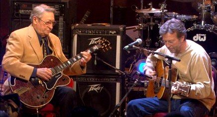 Scotty Moore, Eric Clapton Rockabilly Songs tribute to the King.