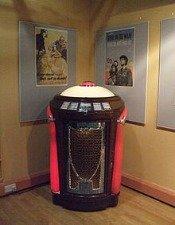 Seeburg Trashcan Jukebox At The Musical Museum, Brentford, London. Jim Linwood
