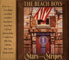The Beach Boys 1996 out-of-print Stars & Stripes album.