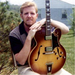 Chuck Sullivan, lead guitarist on the blue-eyed soul song, Soul Serenade.